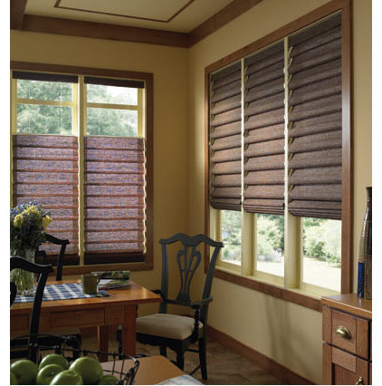 Traditional Roman Shades by BlindSaver.com