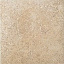 Vallano in Macadamia - Vallano is a rustic tile with a surface visual of lightly weathered stone. It features a complex color palette of rich browns and golds that lend a touch of elegance to both contemporary and traditional settings. A variety of glazes are employed to subtly vary the shading of each tile and add even more visual depth. With its many modular sizes, Vallano makes creating patterns on floors, walls, countertops and backsplashes a simple task. A diverse selection of wall and countertop trim shapes, natural stone borders and carved leaf wall accents add to its versatility.