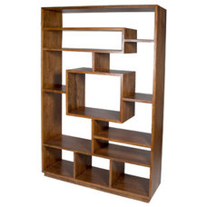 Contemporary Bookcases by Monarch furnishings