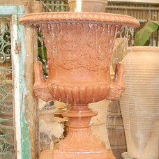 Mediterranean Outdoor Fountains And Ponds by Eye of the Day