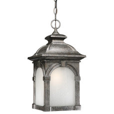 Craftsman Outdoor Hanging Lights by Buildcom