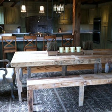 Rustic Dining Tables by Dave Kellum