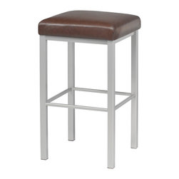 Trica - Trica Day Stationary Bar Stool - Backless, 26 Inches (Counter Height) - *Available in counter, bar or spectator height