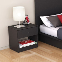 Plateau 1 Drawer Nightstand