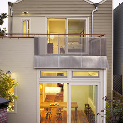 modern exterior by Schwartz and Architecture