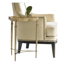 Hooker Furniture - Hooker Furniture Melange Clover Accent Table - Hooker Furniture - Accent Tables - 63850085 - Come closer to Melange, and you will discover something unexpected, an eclectic blending of colors, textures and materials in a vibrant collection of one-of-a-kind artistic pieces.