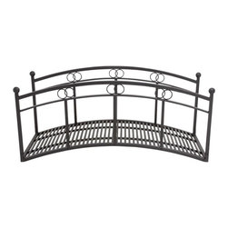 Online shopping for furniture decor and home for Metal garden bridge designs
