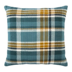 Threshold Plaid Toss Pillow, Trout Stream