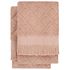Contemporary Towels by Nine Space