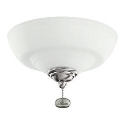 Kichler Lighting - Kichler Lighting Decor Bowl 42-46 Ceiling Fan Light Kit X-SSB421083 - Kichler Lighting Decor Bowl 42-46 Ceiling Fan Light Kit X-SSB421083