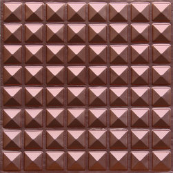"Decorative Ceiling Tiles - Miniature Pyramids - Faux Tin Ceiling Tile - Glue up - 24""x24"" - #105 - Find copper, tin, aluminum and more styles of real metal ceiling tiles at affordable prices . We carry a huge selection and are always adding new style to our inventory."