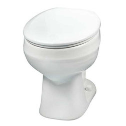 MANSFIELD PLUMBING PRODUCTS - Mansfield Alto Bowl Tall Round Front White 1.6 GPF #117 - Mansfield Alto Bowl Tall Round Front White 1.6 Gpf #117