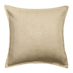 """Mystic Home - Great Falls - 18"""" Diamonte pillow by Mystic Home - The Great Falls, by Mystic Home"""