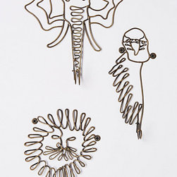 Phyla Hook - I could see using these in a bathroom for towels.