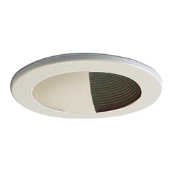 "Nora Lighting - Nora NS-49 4"" Adjustable White Wall Wash with Black Baffle - 4"" Adjustable White Wall Wash with Black Baffle"