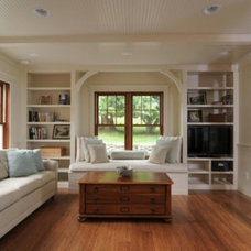 Traditional Living Room by Studio 29 - Architecture, Orcas Island, WA