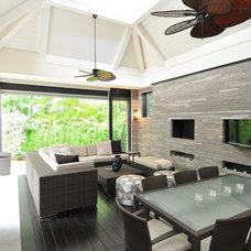 Tropical  by Sherwood Custom Homes
