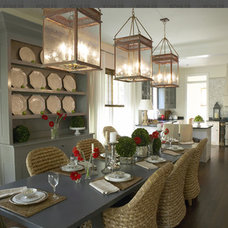 Dining Room by Our Town Plans