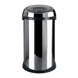 Brabantia Brilliant Stainless Steel 13 Gallon Trash Can - About Brabantia Kitchen and HousewaresBrabantia products are designed for today, but with a strong nod to the future. With a wide line of laundry bags, stainless steel garbage cans, trash cans, ironing boards, and so much more, Brabantia is a company you can rely on for quality.