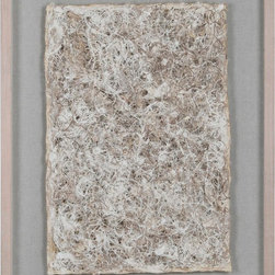 """Ren-Wil - Papier Mache Alternative Wall Decor - Handmade from paper, this complex weave is bound to draw your eyes to the subtle beauty displayed.; Artist: Giovanni Russo; Fomat: Vertical; Wood Frame; Hanging Hardware Included; Weight: 19.4 lbs; Dimensions: 23.62"""" x 31.5"""""""
