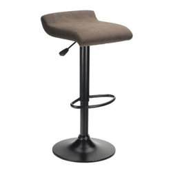"Winsome - ""Winsome Wood Marni Air Lift Stool w/ Microfiber Seat Top, Black"" - ""Adjustable Seat Height from 24.90-inch- 29.84-inchDimensions (W x L x H): 16.02"""" x 15.16"""" x 31.9""""Weight: 13 lbs.Textured Black FrameSeat finished in Charcoal MicrofiberAir Lift Swivel Seat, Easy to assemble with parts and tools includedAdjustable seat height between 24.90-Inches to 29.84-InchesMaximum weight limit is 200 lbs"""