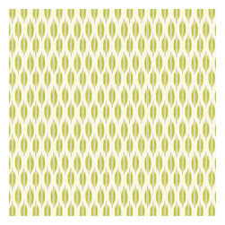 Green & Gray Ikat Dot Sateen Fabric - Ikat dot in lime green & gray on the softest white cotton sateen. As cute as it is contemporary.Recover your chair. Upholster a wall. Create a framed piece of art. Sew your own home accent. Whatever your decorating project, Loom's gorgeous, designer fabrics by the yard are up to the challenge!