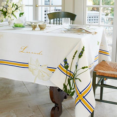 traditional table linens by COULEUR NATURE