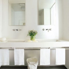 Powder Room: Floating Vanity « Oliver Yaphe