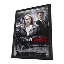 Fair Game 11 x 17 Movie Poster - Style B - in Deluxe Wood Frame - Fair Game 11 x 17 Movie Poster - Style B - in Deluxe Wood Frame.  Amazing movie poster, comes ready to hang, 11 x 17 inches poster size, and 13 x 19 inches in total size framed. Cast: Stephanie Chai