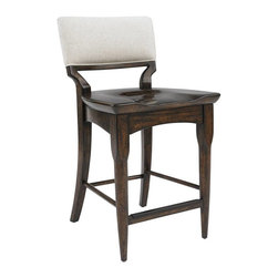 Stanley Furniture - Nailhead Trim Counter Stool - Exposed industrial elements, like the nailhead trim, distinguishes the Counter Stool.