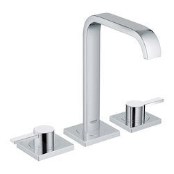 Grohe - Grohe 20191000 Allure WaterCare Two-Handle Widespread Lavatory Faucet w/ Lever H - Allure WaterCare Two-Handle Widespread Lavatory Faucet with Lever Handles belongs to Allure Collection by Grohe Like nature, Grohe strives for design perfection – reducing the unnecessary to ensure beauty with reason.  Faucet (1)