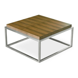 Gus Modern - Gus Modern Drake Coffee Table - Every home should have a coffee table to kick it to. You're watching the game and call doesn't go your way? This table can take your punishment. It's movie night with your sweetie? This table will accommodate your feet. Or, add a couple picture books and magazines and have a classy centerpiece that pulls the room together.