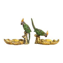 Sterling - Sterling 93-4180 Set/2 Tropical Dishes - Sterling 93-4180 Set/2 Tropical Dishes