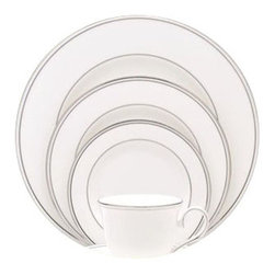 Lenox - Lenox Federal Platinum 5-Piece Place Setting - Lenox Federal Platinum 5-Piece Place Setting