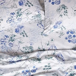 Anthropologie - Azalia Sheet Set - *Set includes one flat sheet, one fitted sheet, and two standard pillowcases