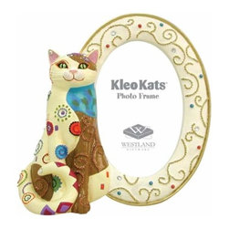 WL - Kleo Kats Sitting Pretty Mosaic Kitten Ceramic Picture Frame - This gorgeous Kleo Kats Sitting Pretty Mosaic Kitten Ceramic Picture Frame has the finest details and highest quality you will find anywhere! Kleo Kats Sitting Pretty Mosaic Kitten Ceramic Picture Frame is truly remarkable.