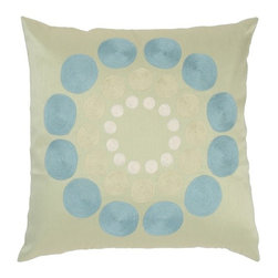 Rizzy Home - Green and Aqua Decorative Accent Pillows (Set of 2) - T03580 - Set of 2 Pillows.