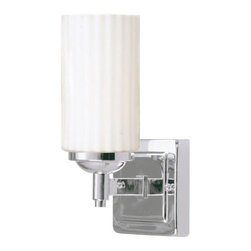 Livex Lighting - Livex Lighting 1421 Madison 1 Light Bathroom Vanity Light - Product Features: