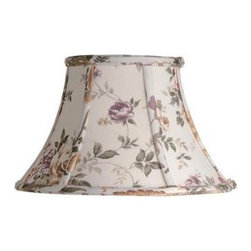 Laura Ashley - Laura Ashley Austen 14 in. Floral Bell Shade SLL224 - Shop for Lighting & Fans at The Home Depot. Founded in 1953, Laura Ashley has become a quintessential English brand, synonymous with quality, creativity, and individuality. Laura Ashley products are recognized worldwide for their colorful patterns and iconic floral prints. This floral Laura Ashley lamp shade is made of canvas, and will be a vibrant addition to any room.