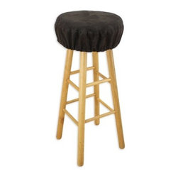 "Chooty & Co - Passion Suede Round Foam Bar Stool Cushion - Features: -Material: 25%Polyester and 75% Cotton. -Spot / Dry clean. -Made in the USA. Dimensions: -Seat diameter: 15"". -Product weight: 1lbs."