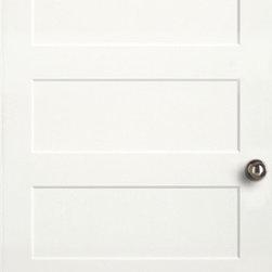 Authentic Wood Doors - Primed Shaker Series Primed Five Panel