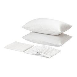 GÄSPA Sheet set - Sheet set, white
