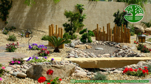 Asian Landscape by CHIP-N-DALE'S CUSTOM LANDSCAPING