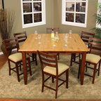 The Mod Century Oval Dining Table in Walnut - Contemporary - Dining Tables - chicago - by ...