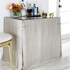 All-Purpose Shelf Table and Table Cloth | Side Tables | Wisteria