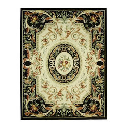 Safavieh - Safavieh Chelsea Country & Floral Hand Hooked Wool Rug X-8-A08KH - 100% pure virgin wool pile, hand-hooked to a durable cotton backing. American Country and turn-of-the-century European designs. This collection is handmade in China exclusively for Safavieh.