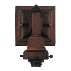 Meyda Tiffany - Meyda Tiffany Wiring Components Wall Sconce in Undefined - Shown in picture: 1 Lt Mission Sconce