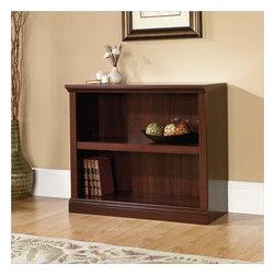 Sauder - Sauder Select 2 Shelf Bookcase in Select Cherry - Sauder - Bookcases - 414238