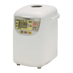 Zojirushi - Zojirushi BB-HAC10 Home Bakery Mini BreadMaker - -1-lb. bread ideal for singles and smaller families