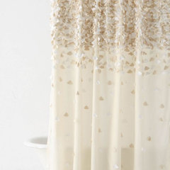 modern shower curtains by Anthropologie